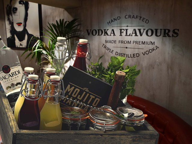 Mojito Box with Reserved Area Hen Party