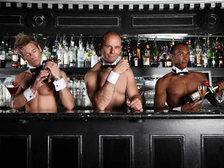 Naked Butlers Hen Party Activity