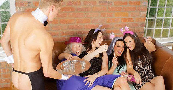 Naked Butlers Hen Party Bristol