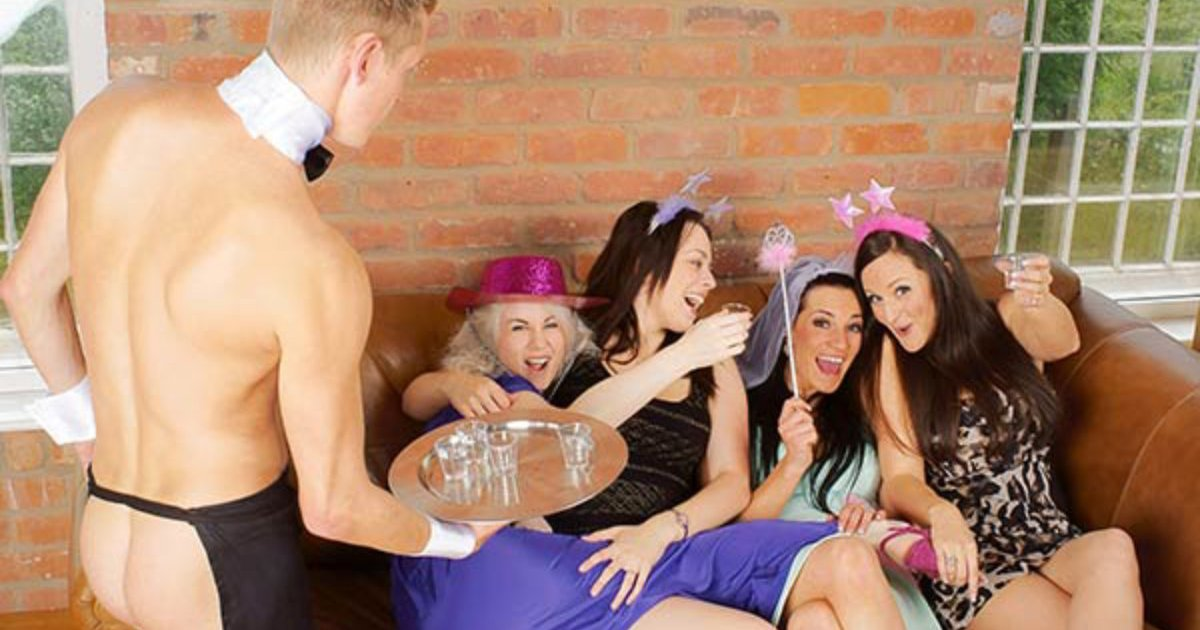Naked Butlers Hen Party Hull
