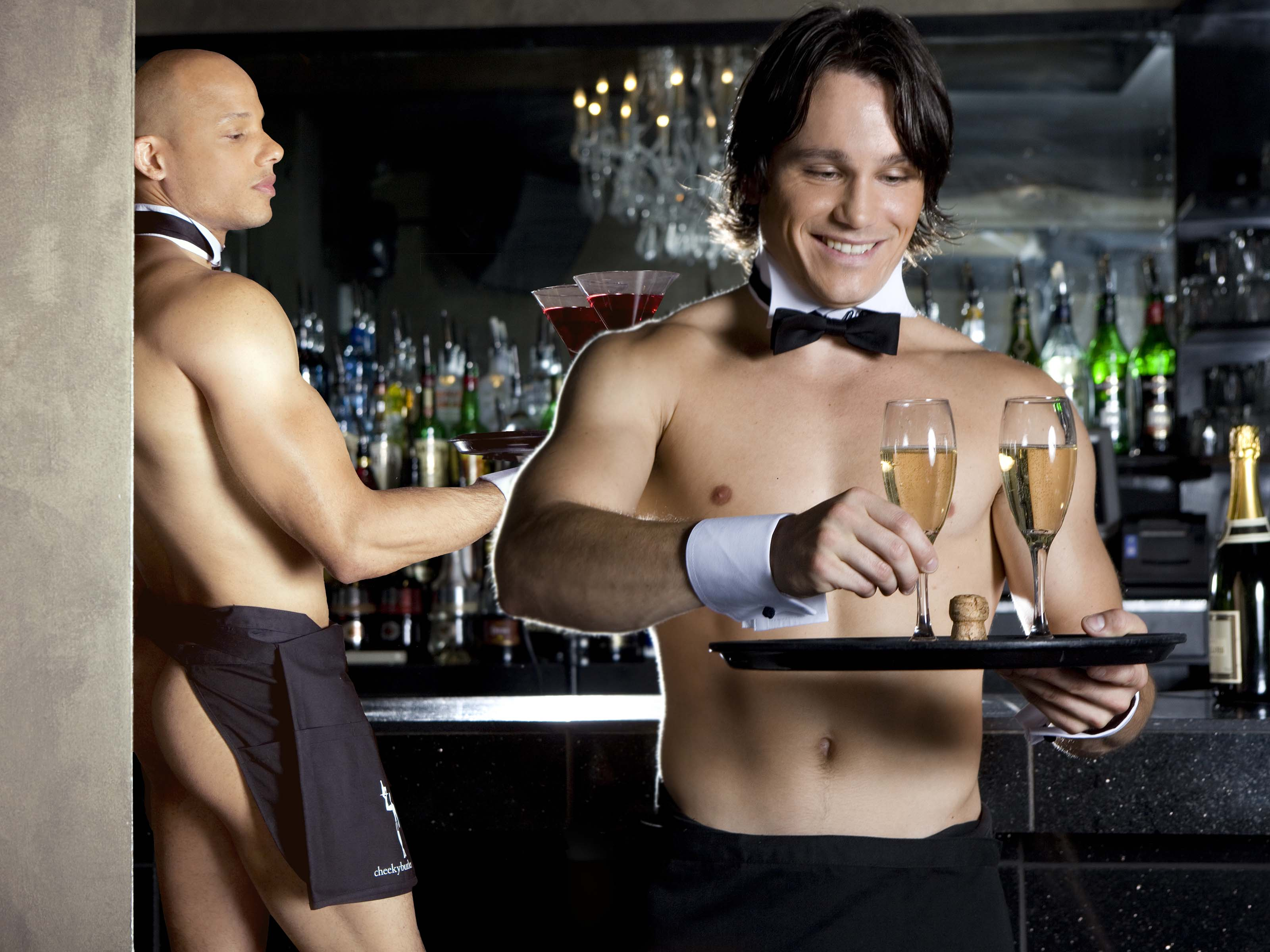 Naked Butlers Hen Party