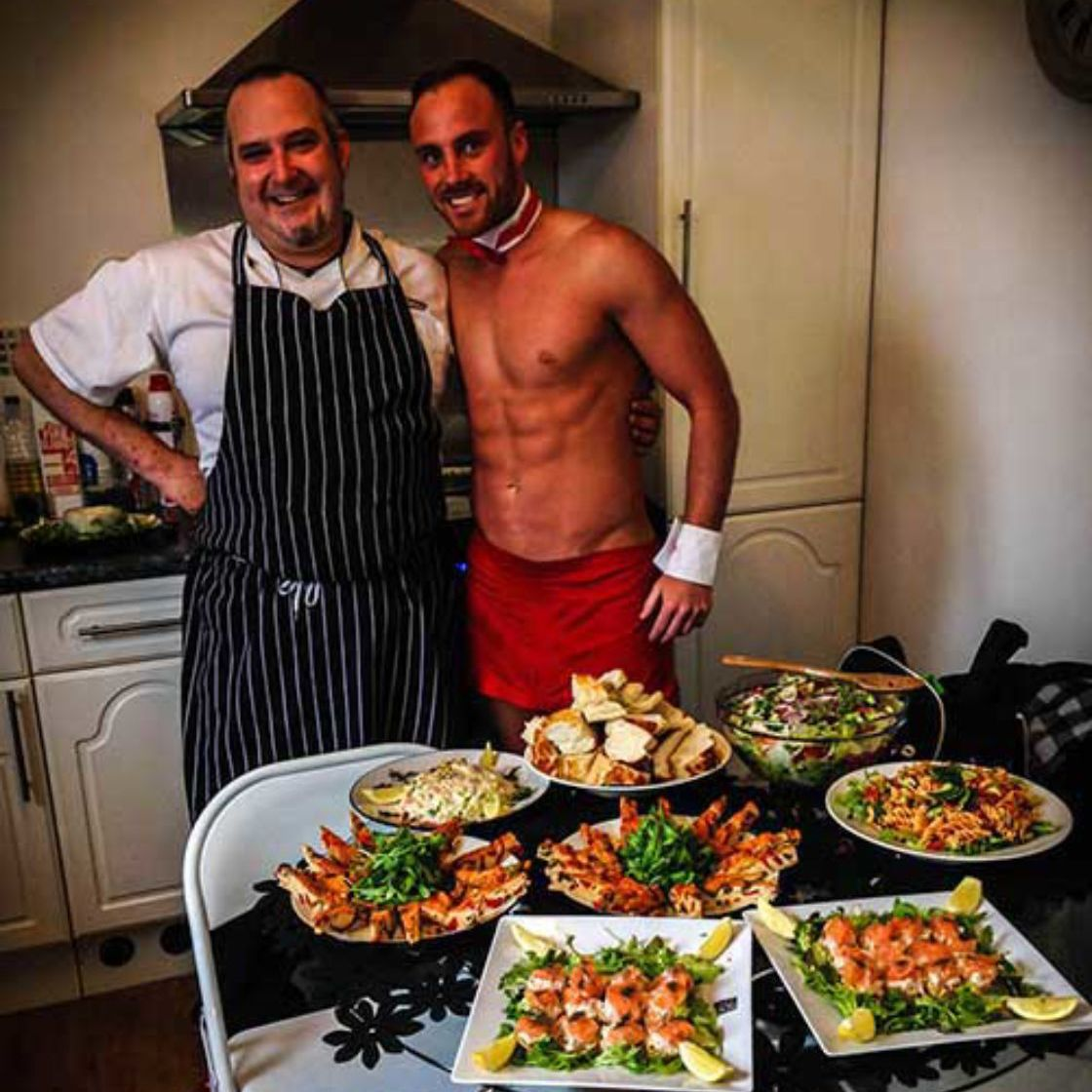 Naked Chef Indulgent Meal Hen Party Bath