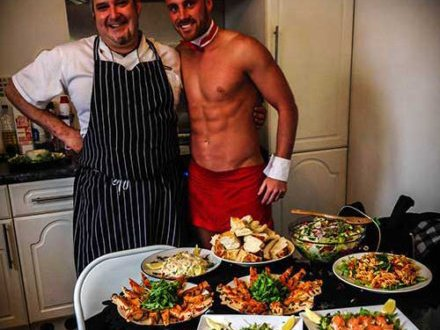 Naked Chef Indulgent Meal Hen Party Glasgow