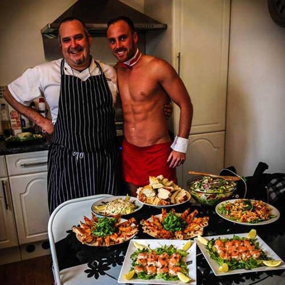 Naked Chef Indulgent Meal Hen Party Swansea