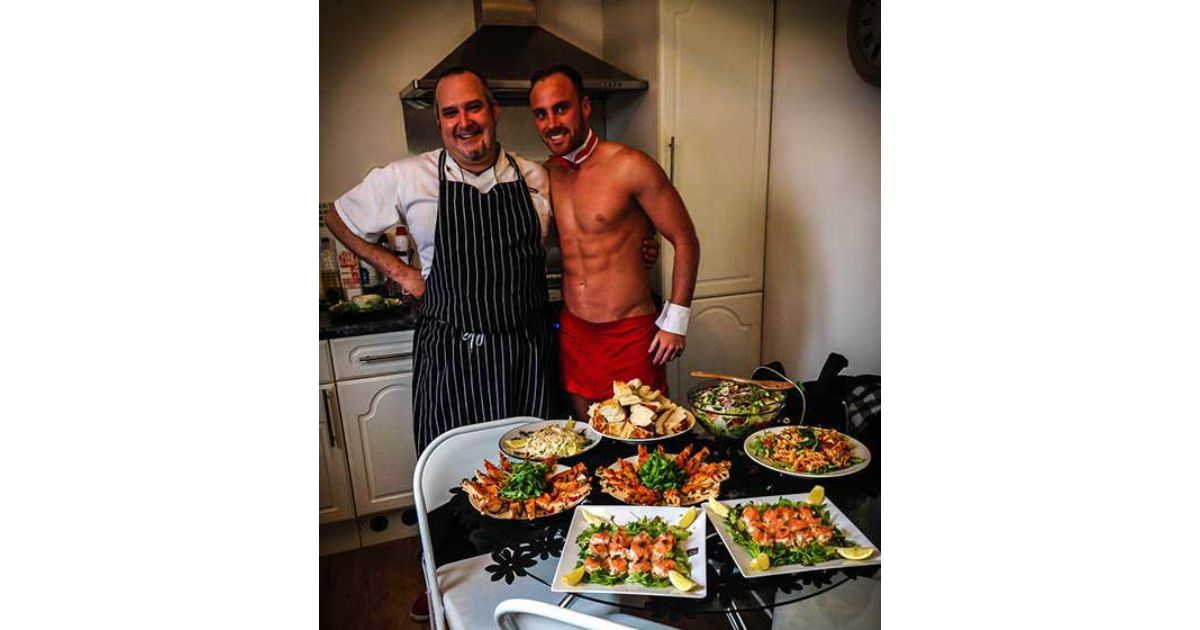 Naked Chef Spanish Meal Hen Party Glasgow