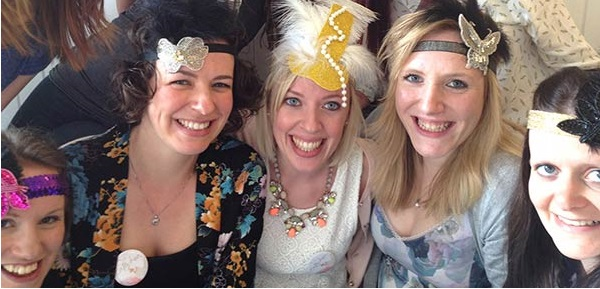 Flapper Headband Making