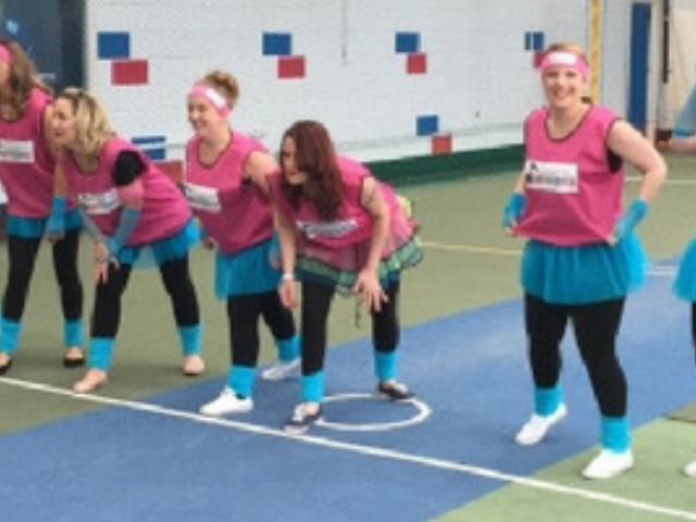 School Sports & Disco Dodgeball Hen Night