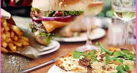 Pizza or Burger & Drink Hen Party Aberdeen