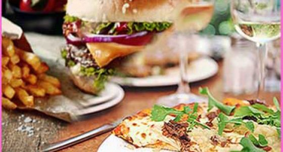 Pizza or Burger & Drink Hen Party Cambridge