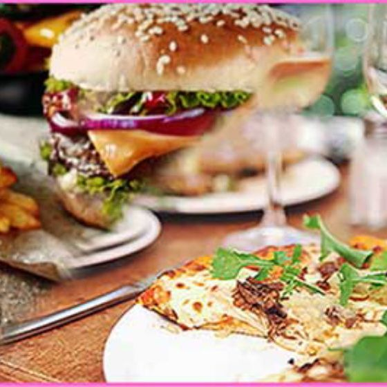 Pizza or Burger & Drink Hen Party Cardiff