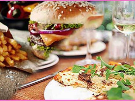 Pizza or Burger & Drink Hen Party Glasgow
