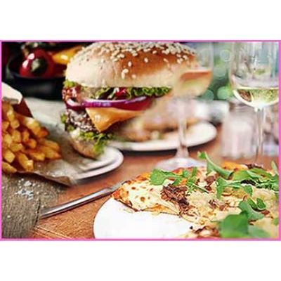 Pizza or Burger & Drink Hen Party London