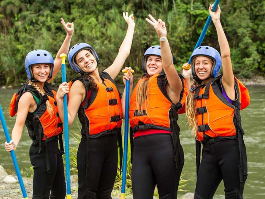 Raft Building Hen Party Cardiff