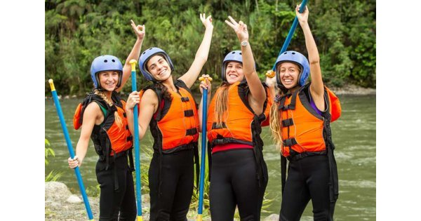 Raft Building Hen Party Swansea
