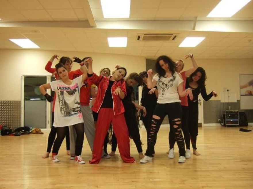 THRILLER Dance Class Hen Party