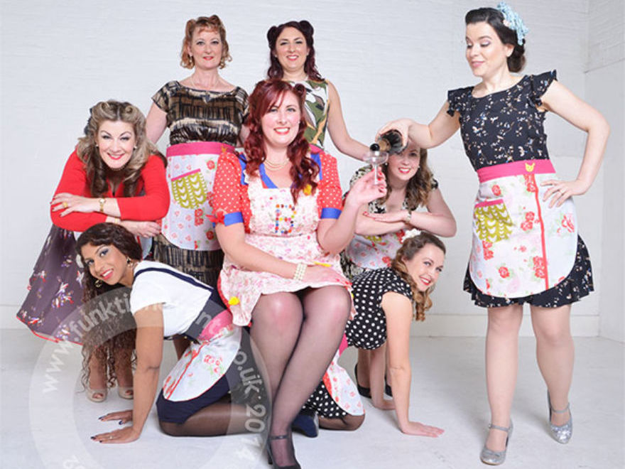 Vintage Makeover & Photoshoot Hen Party Birmingham