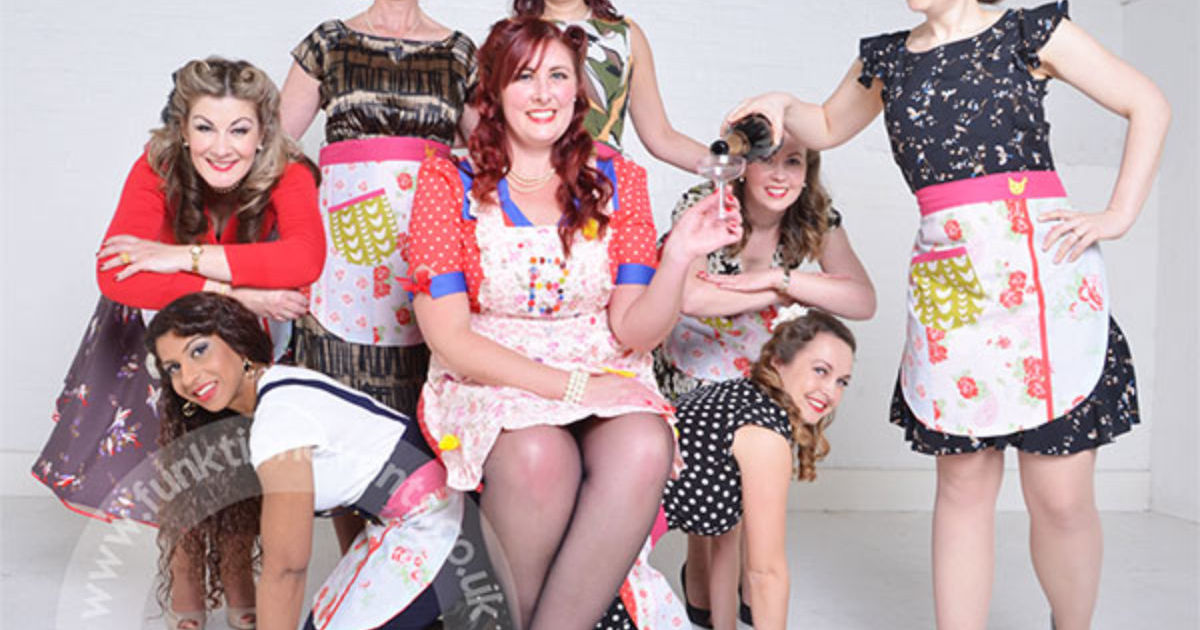 Vintage Makeover & Photoshoot Hen Party Leeds