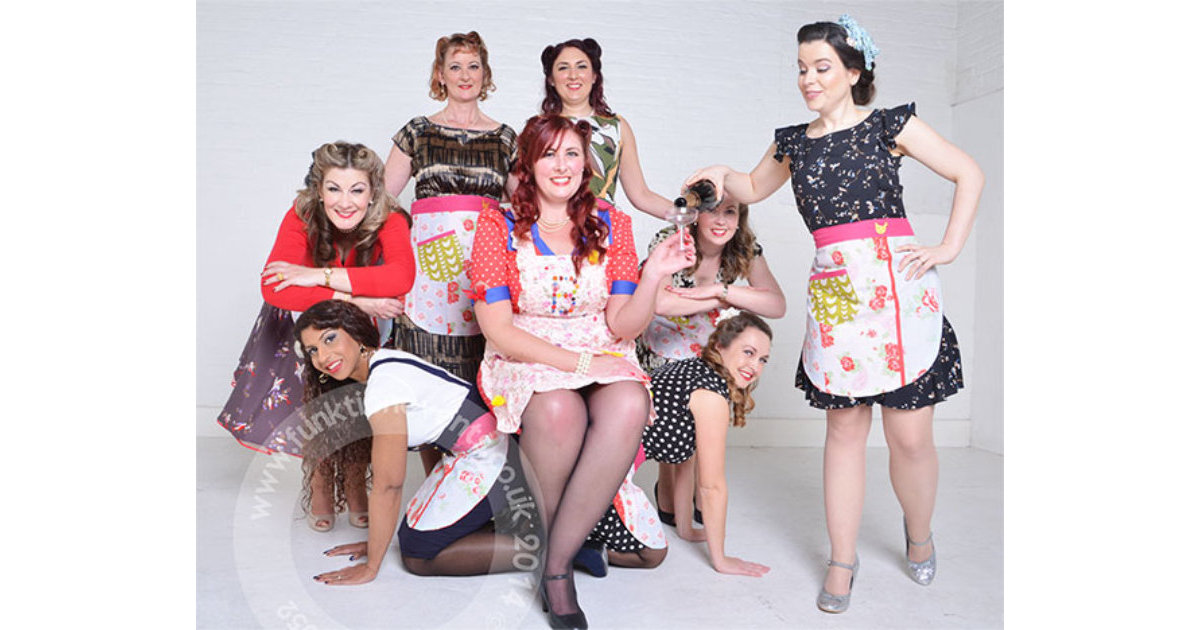 Vintage Makeover & Photoshoot Hen Party London