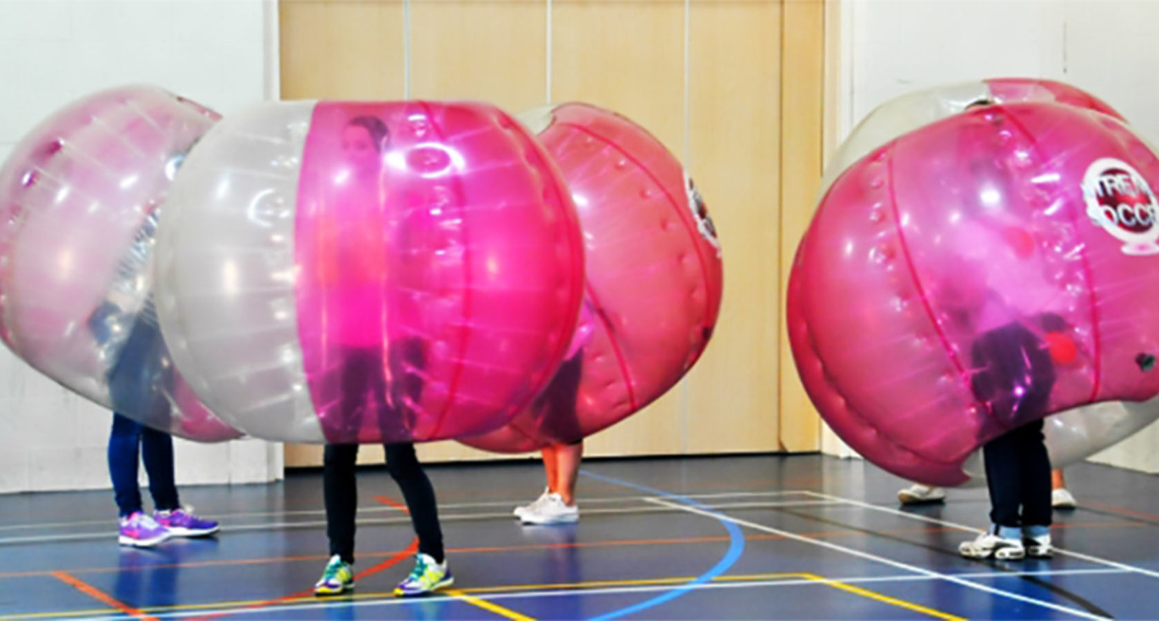 Zorb Bubble Games Hen Weekend Glasgow