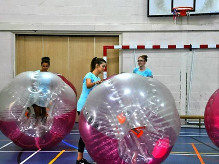 Hen Parties Zorb Bubble Games