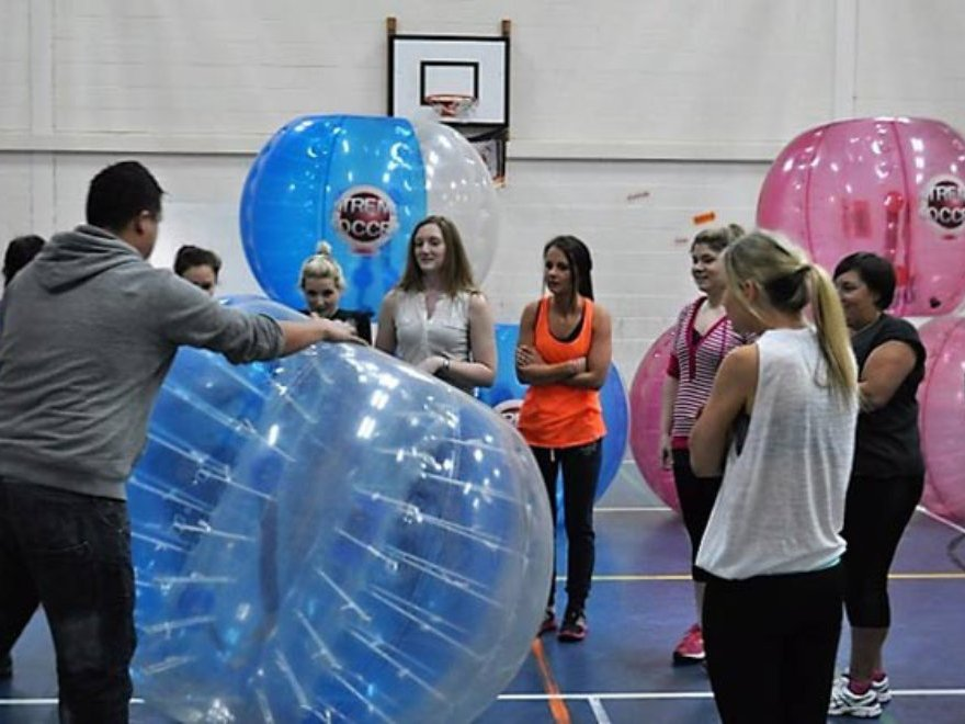 Hen Party Zorb Bubble Games