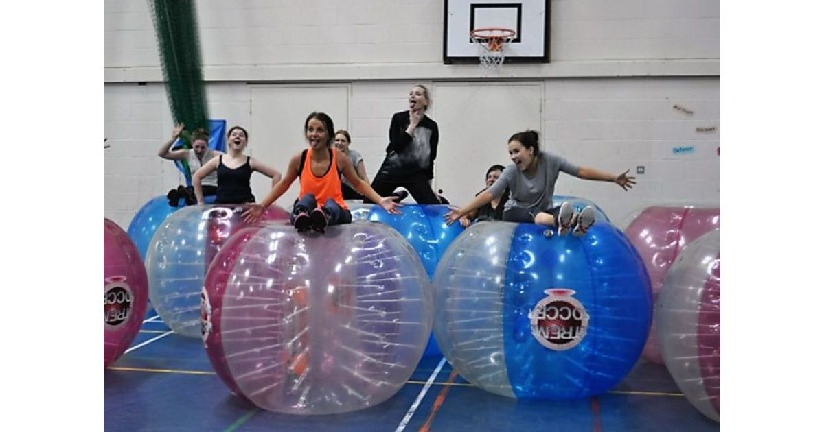 Zorb Bubble Games Hen Do Activity