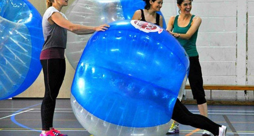 Zorb Bubble Games Hen Party Glasgow