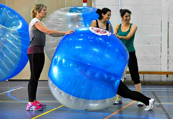 Zorb Bubble Games Hen Party Manchester
