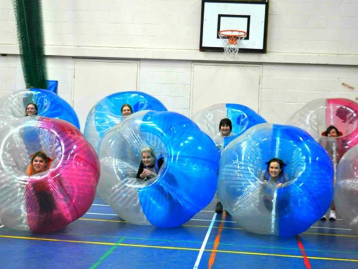 Zorb Bubble Parties Hen Party Activity