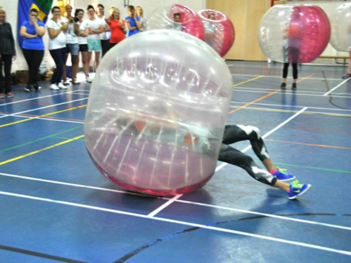 Zorb Games Hen Party Activity