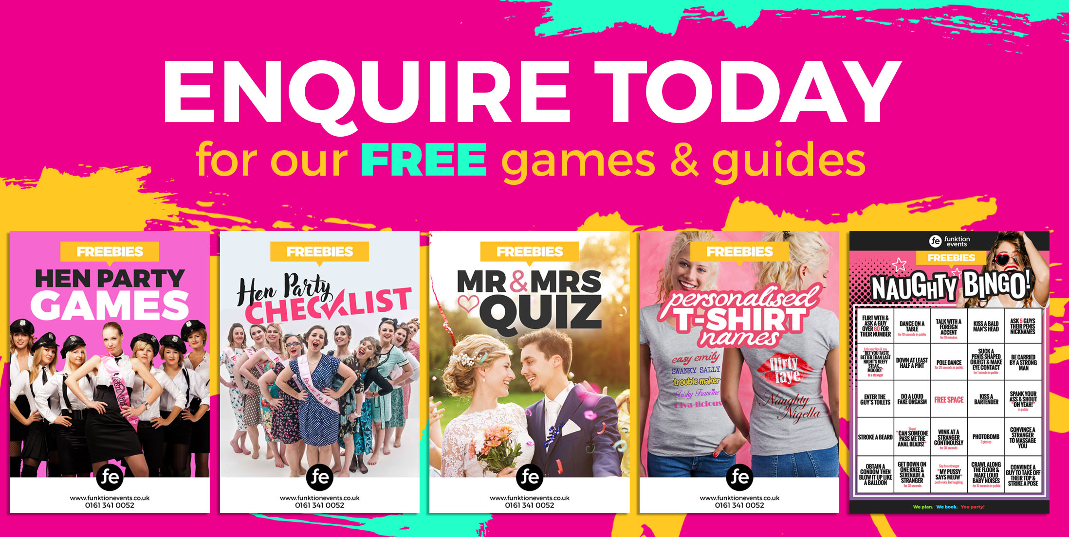 Enquire Today for Our Free Games & Guides