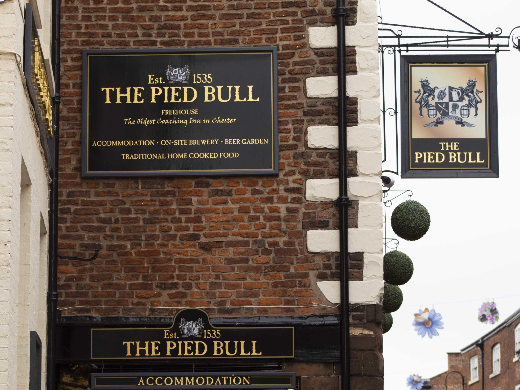 The Pied Bull - Real Ale Pubs in Chester