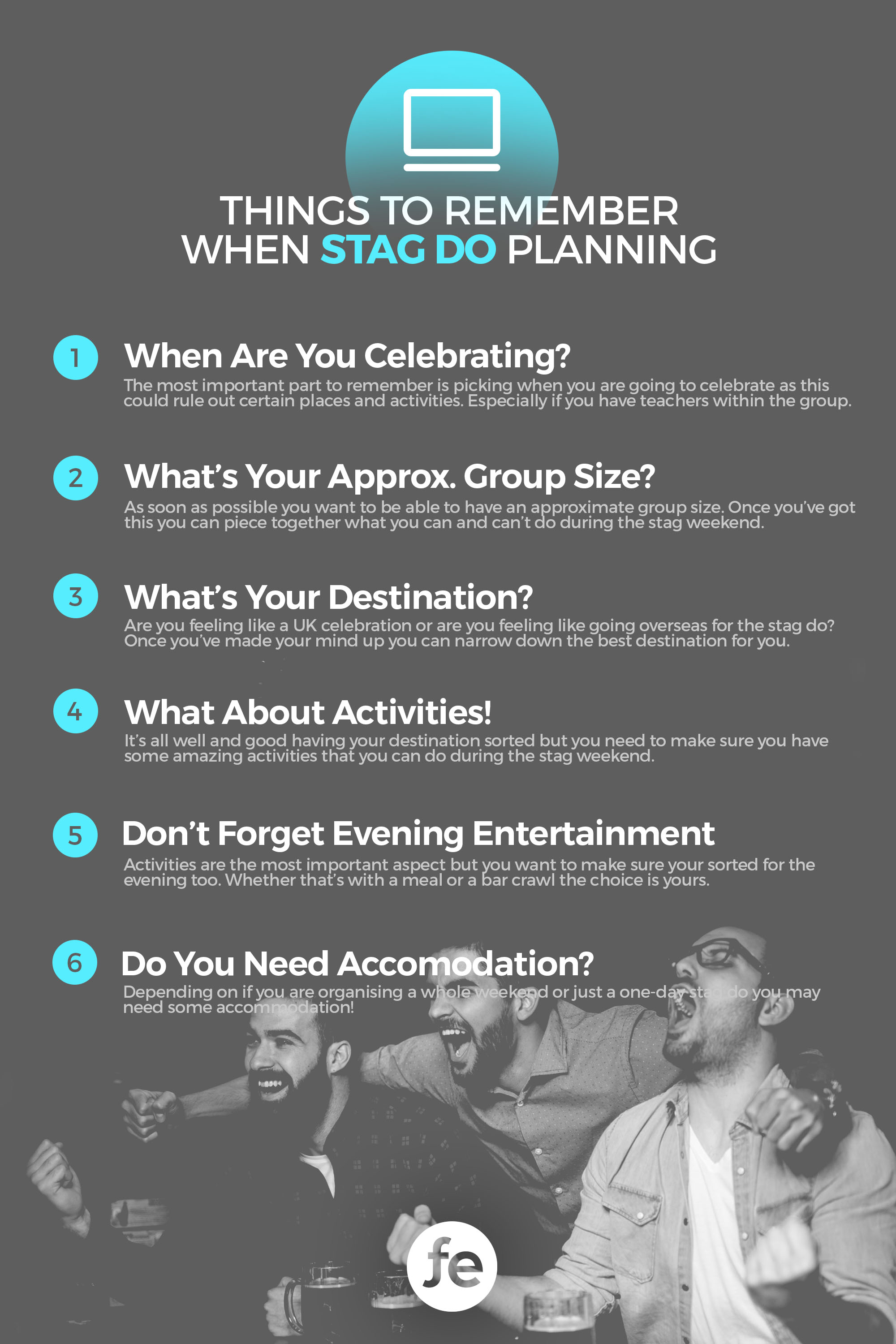 Things to Remember When Stag Do Planning