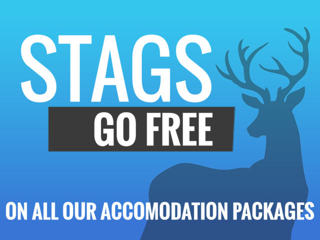 Stag Goes Free!