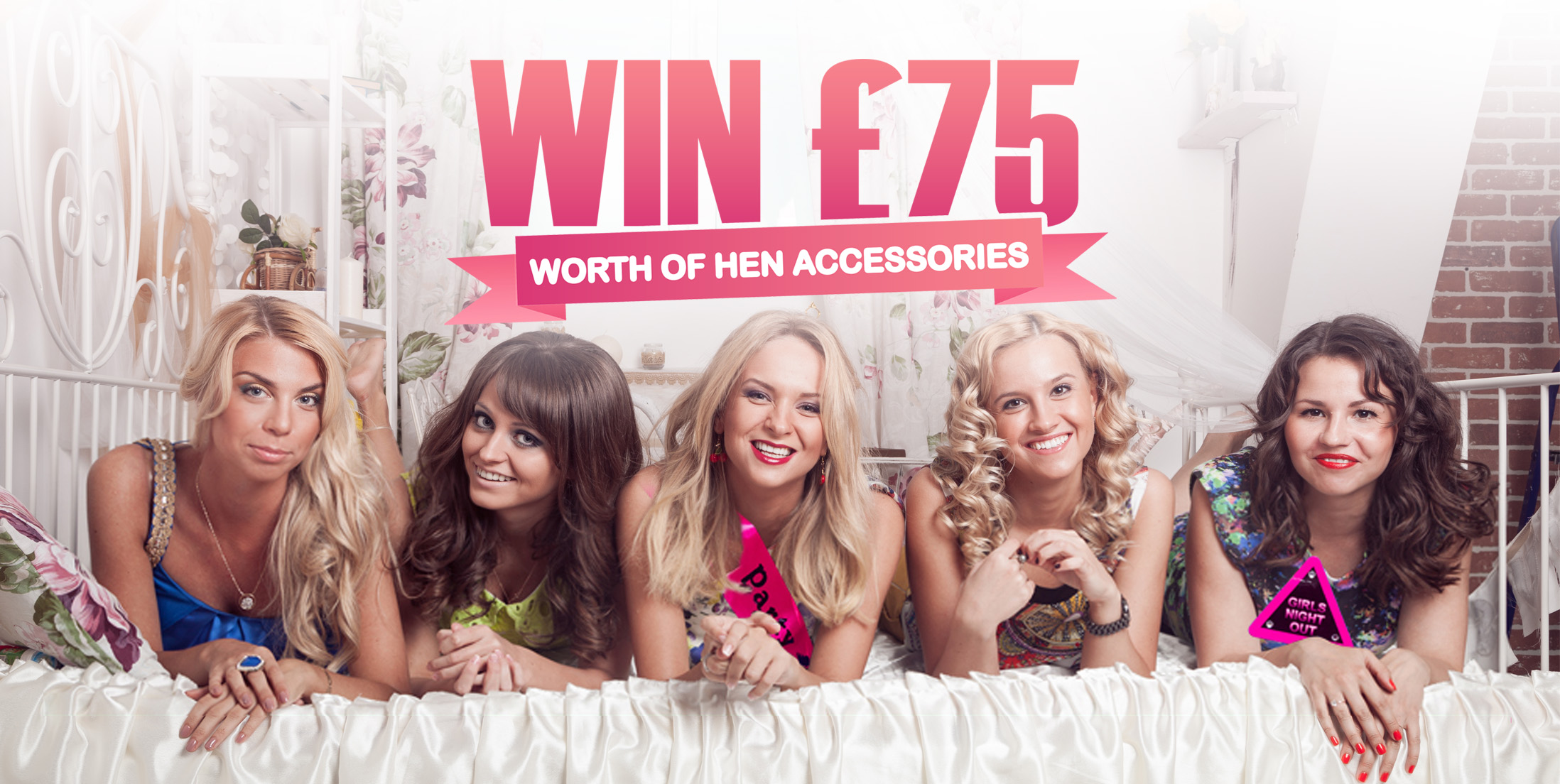 £75 Worth of Hen Party Accessories Competition
