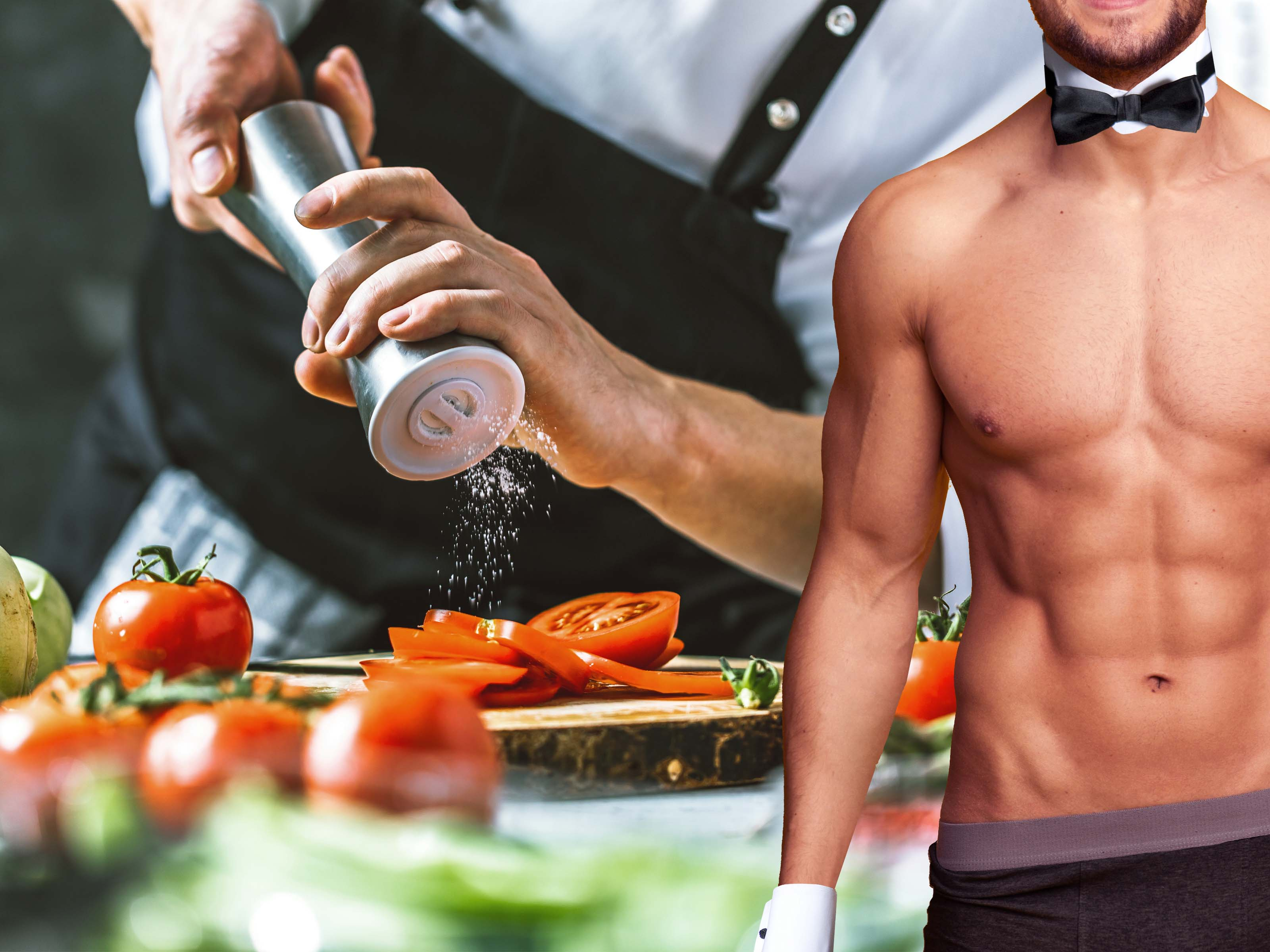 Private Chef with Hunky Butler