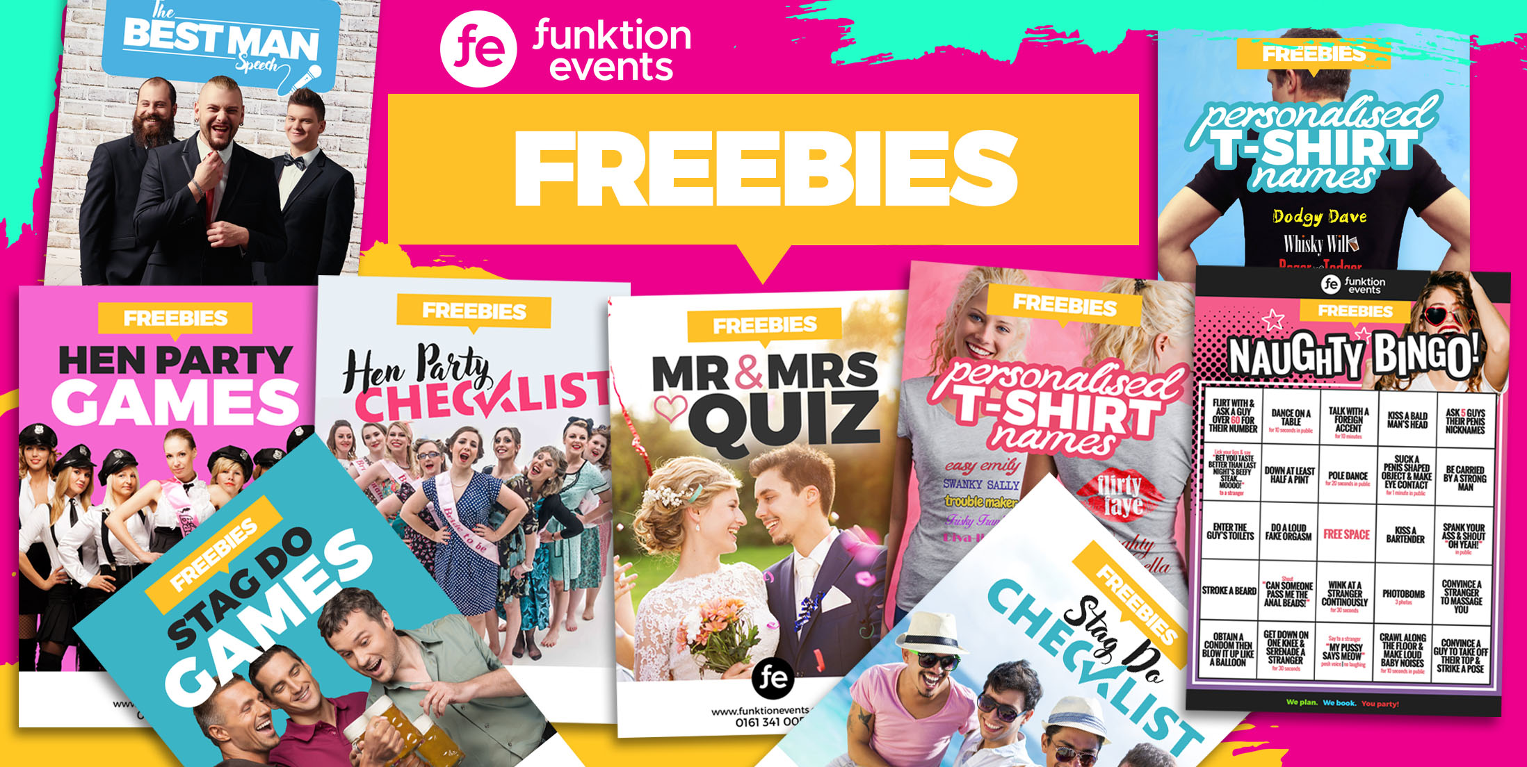8+ Printable Essential Hen & Stag Do Freebies | Games & Checklists