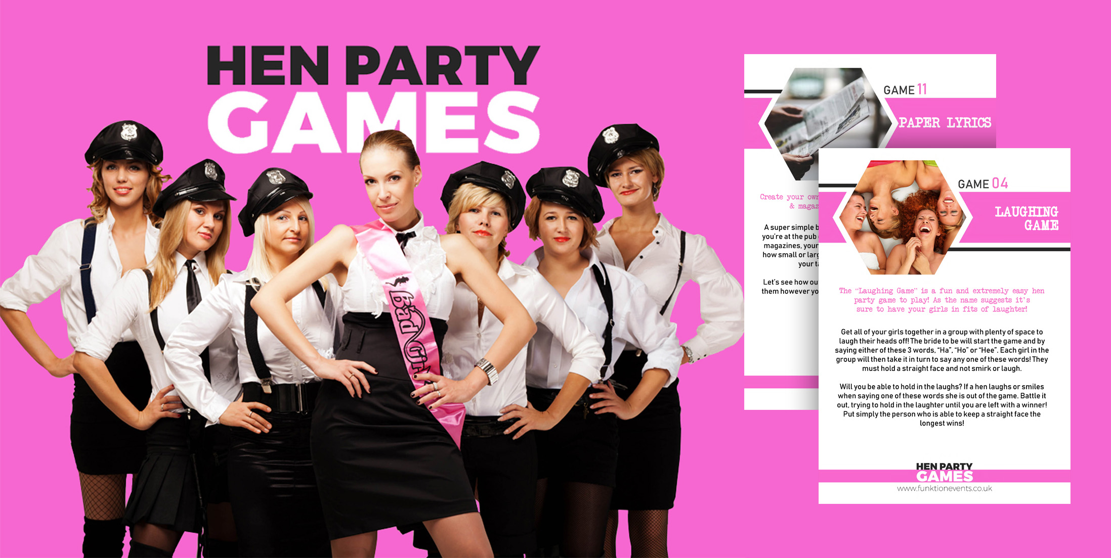 Freebies Page - Hen Party Games