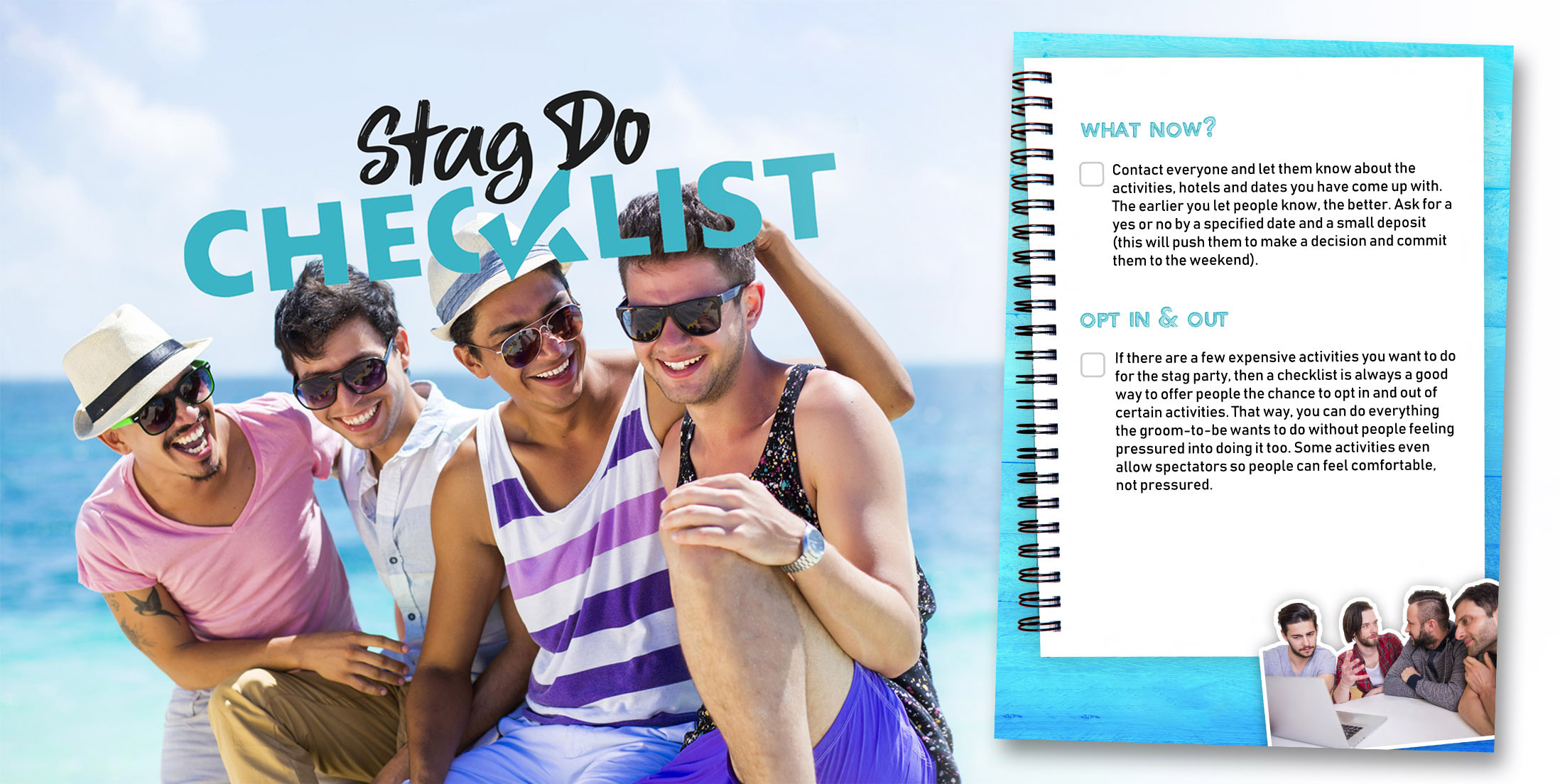 Freebies Page - Stag Do Checklist
