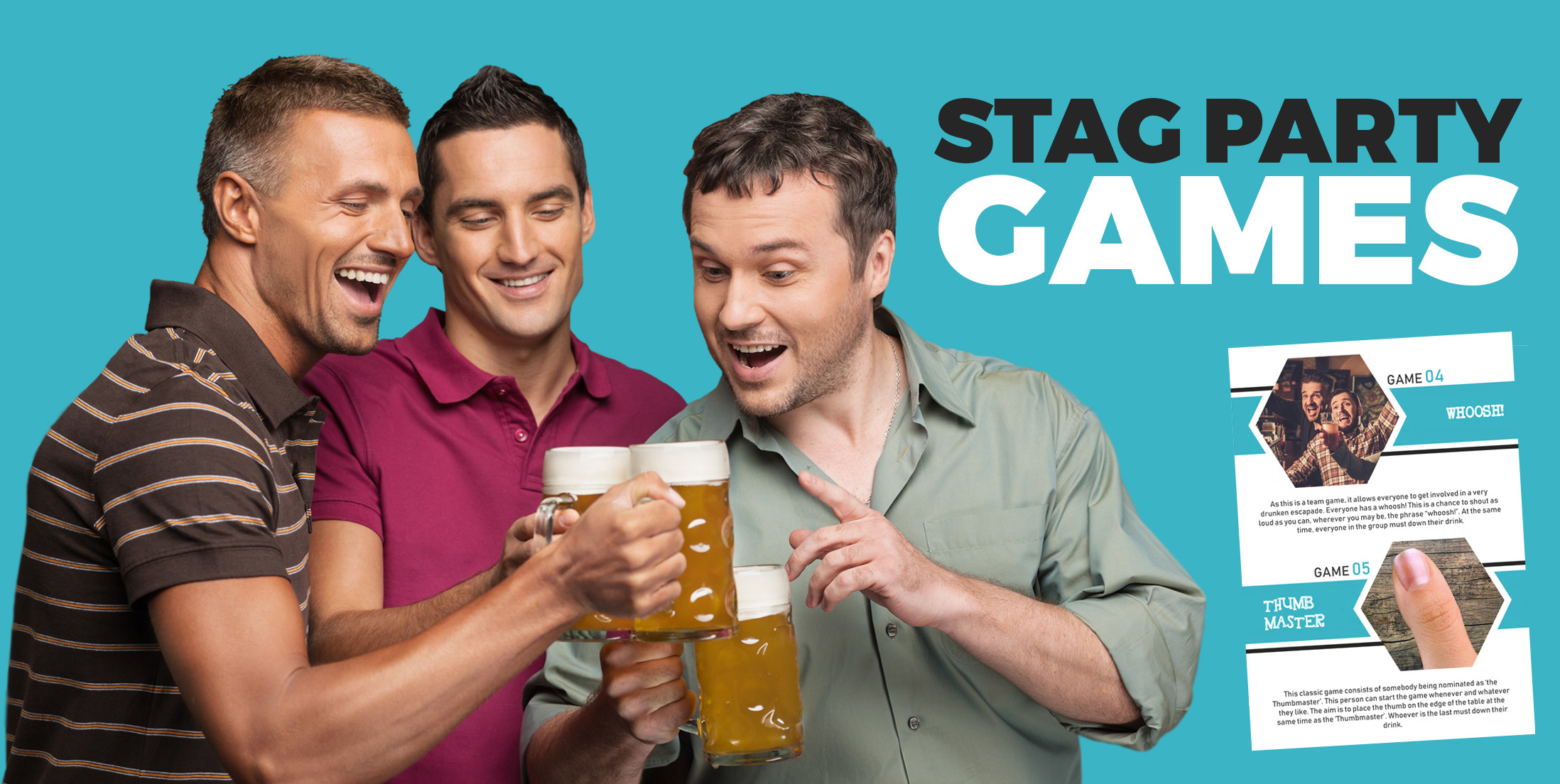 Freebies Page - Stag Do Games