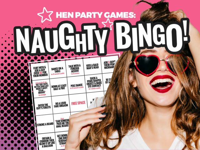 Naughty Hen Party Bingo