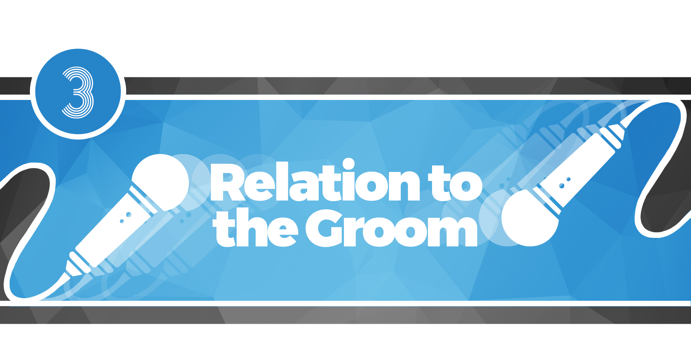 The Best Man Speech - Relation to the Groom