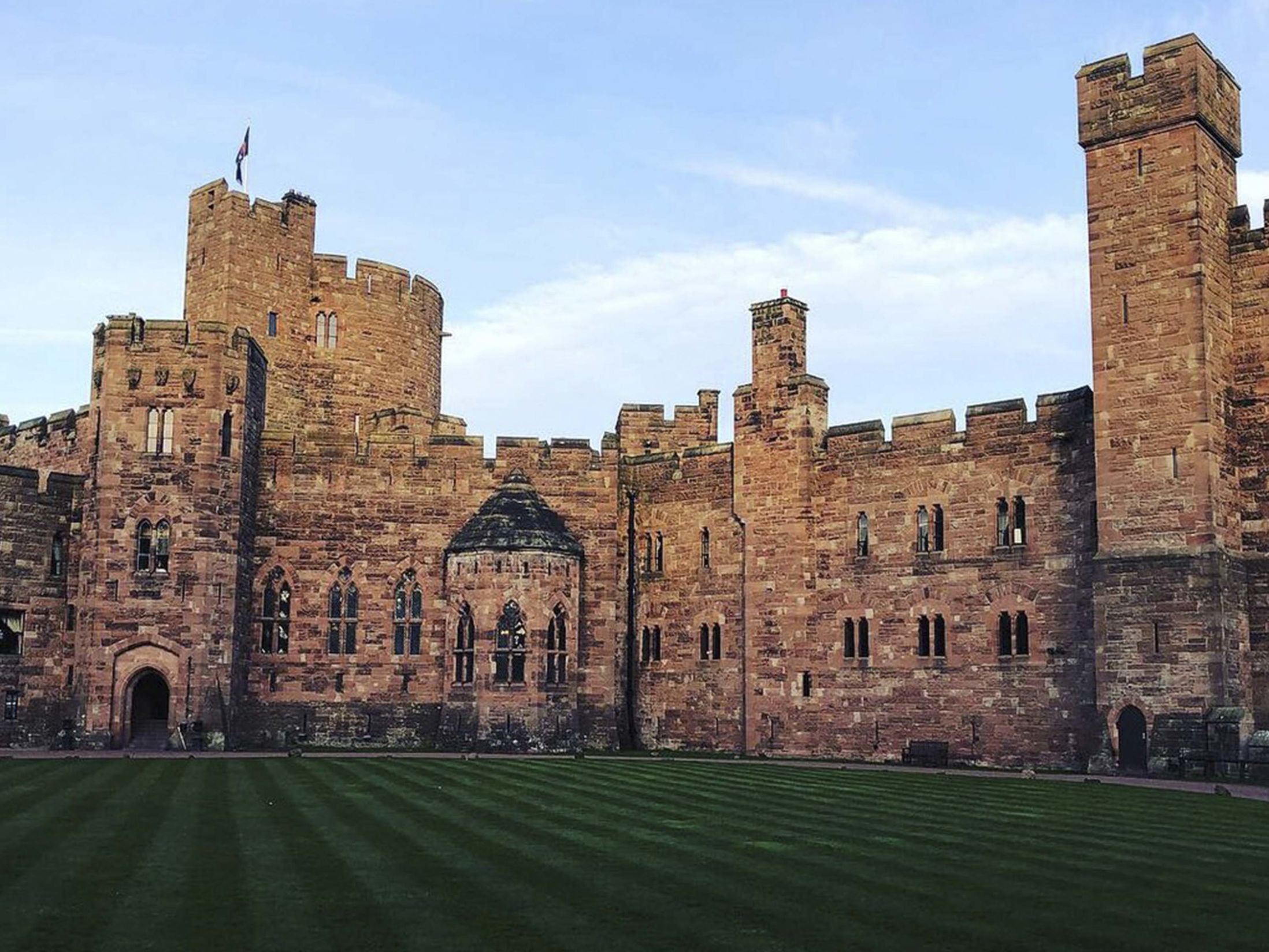10 Large Christmas Party Venues in Cheshire - Peckforton Castle