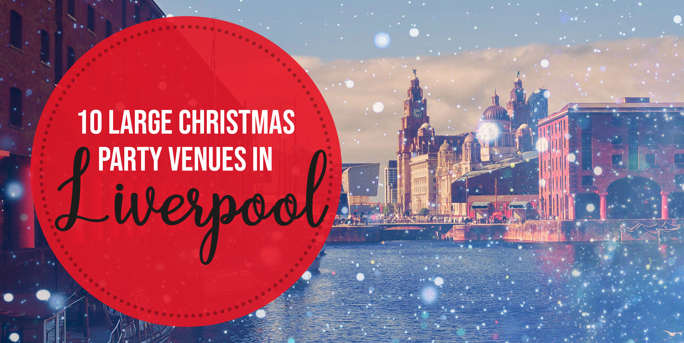 10 Large Christmas Party Venues in Liverpool