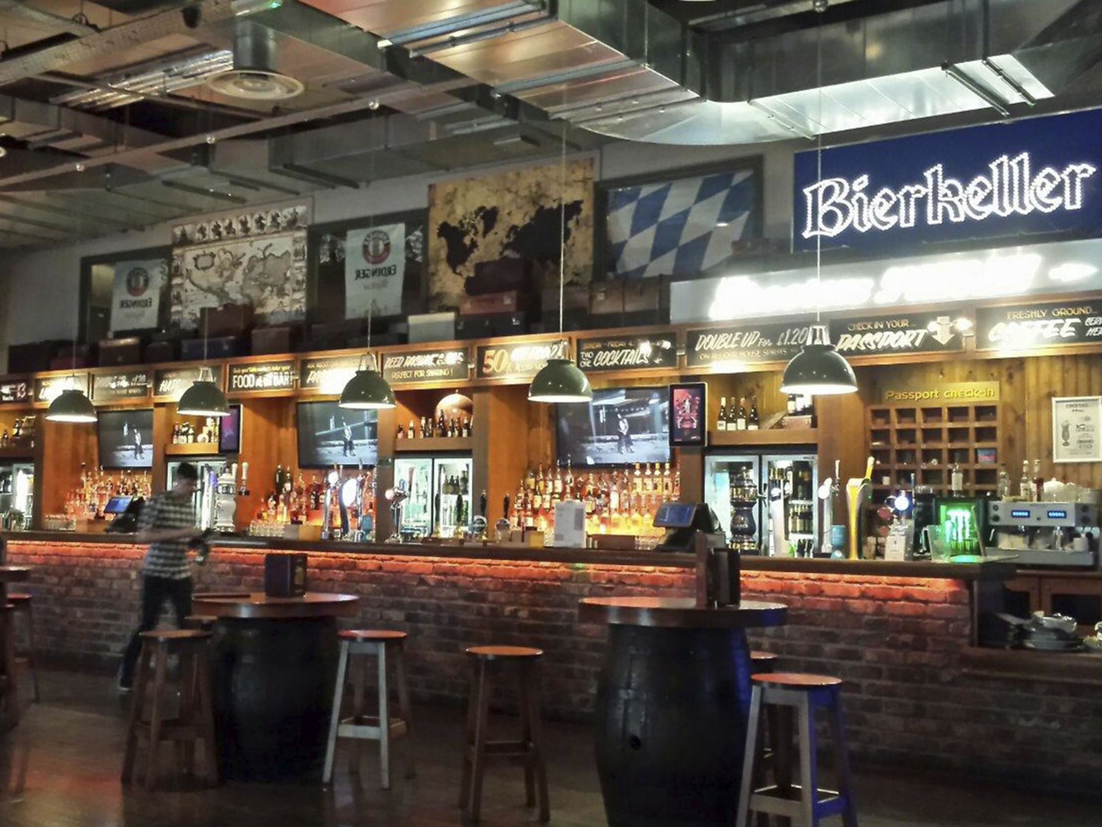 15 Large Christmas Party Venues in the North West - Bierkeller (Liverpool)