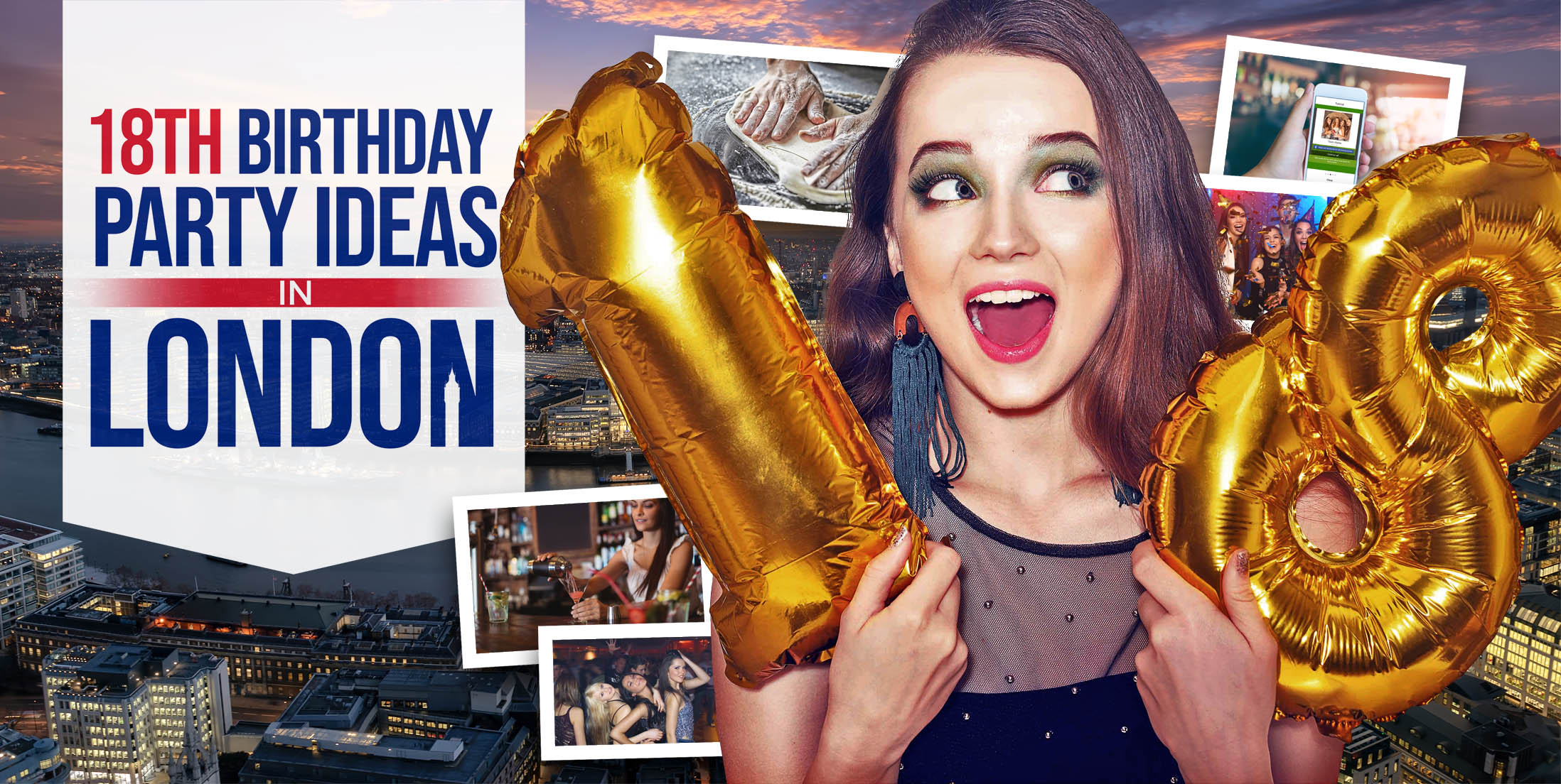 18th Birthday Party Ideas in London
