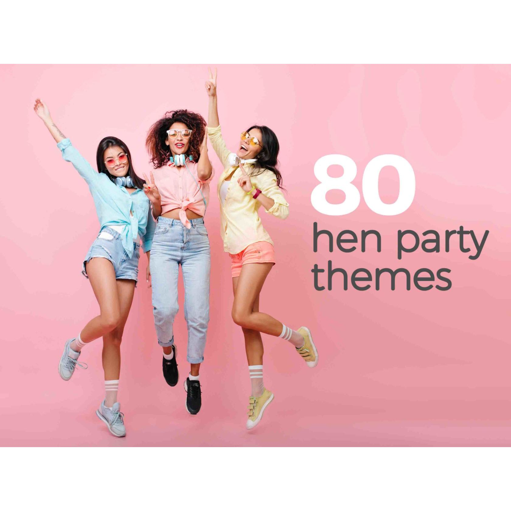 Birthday Party Fancy Dress Stag Hen 80 x Personalised Photo Face Masks Kits