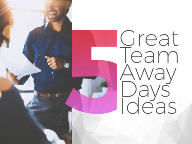 5 Great Team Away Day Ideas