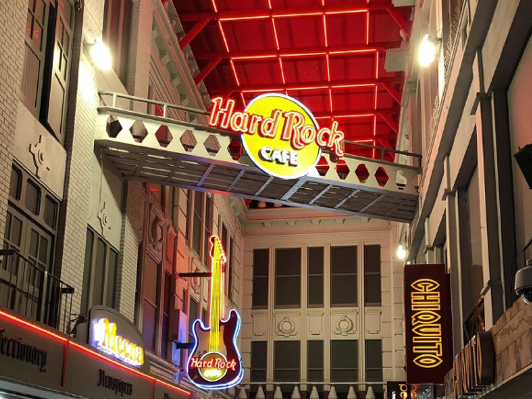 9 Large Christmas Party Venues in Manchester - Hard Rock Cafe