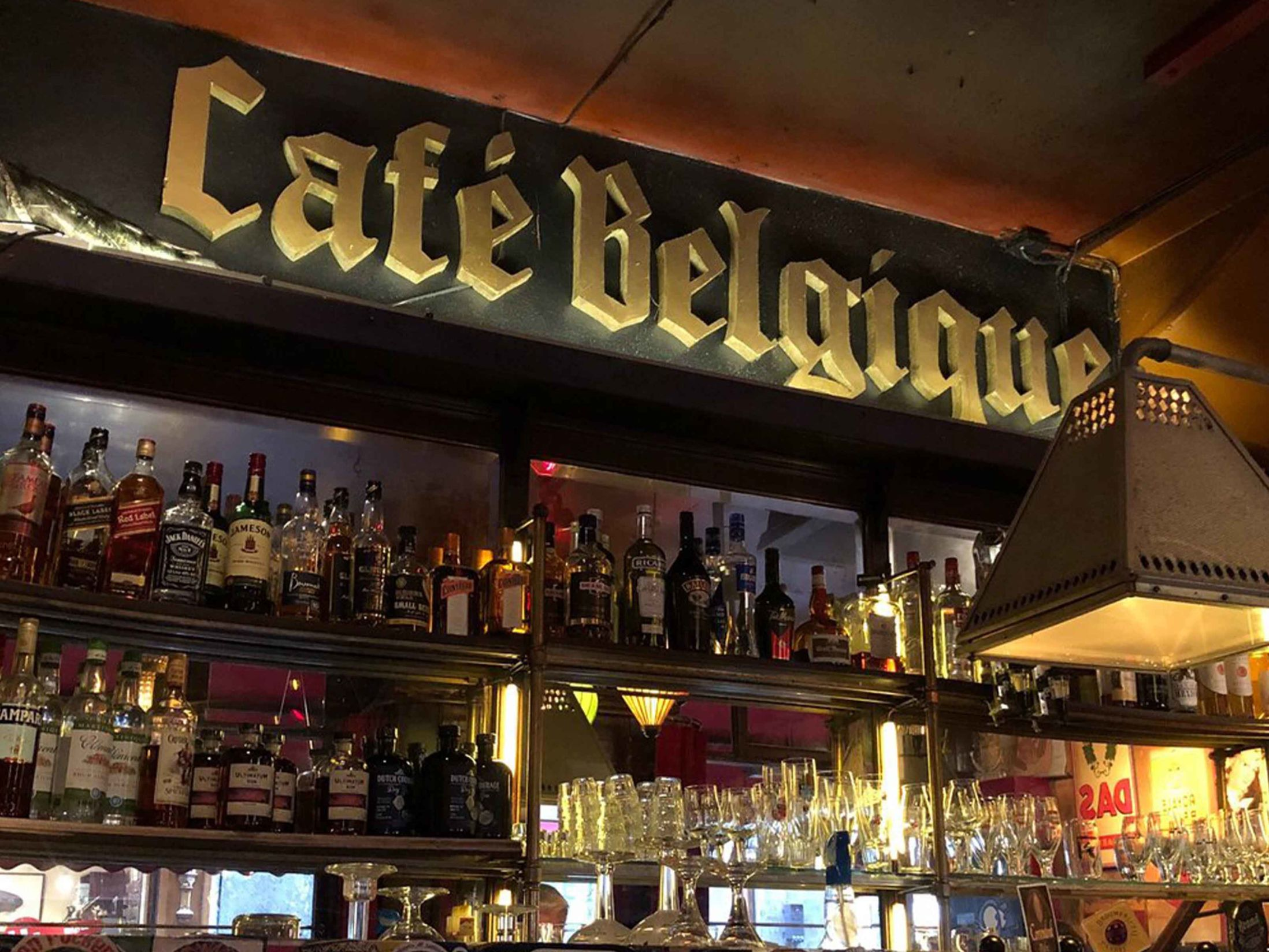 Best Bars in Amsterdam - Cafe Belgique